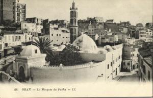 algeria, ORAN, Hassan Basha Mosque, Islam (1910s) LL