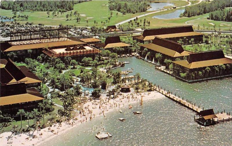 17624 Aerial View Walt Disney World Seven Seas Lagoon Magic