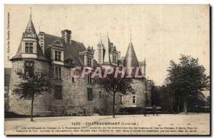 Chateaubriant Old Postcard Renaissance Chateau