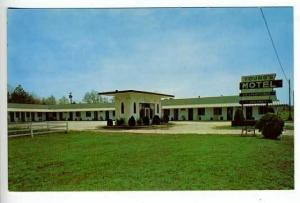Greenwood SC Young's Motel Postcard