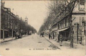 CPA LE BOURGET - Rue de Flandre (44467)