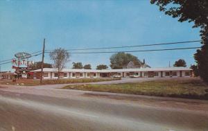 Glen Manor Motel , KINGSTON , Ontario , Canada , 50-60s