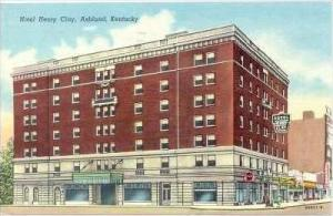Hotel Henry Clay , Ashland , Kentucky, PU-1950
