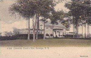 New York Saratoga Springs Chauncey Olcotts Villa 1910
