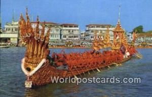 Bangkok Thailand Nakaraj Barge, Procession  Nakaraj Barge, Procession