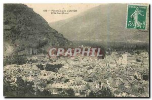 Old Postcard Panorama Luchon Cote Sud Ouest