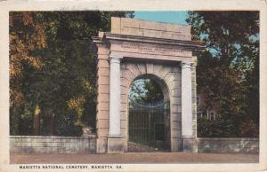 Marietta National Cemetery - Marietta GA, Georgia - WB