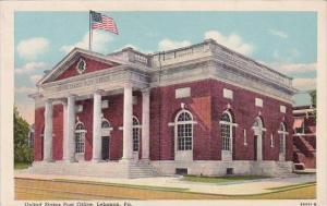 United States Post Office Lebanon Pennsylvania