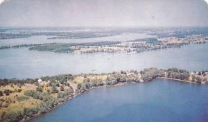 Scenic view,  Lake of the Mountain,  Picton,  Ontario,  Canada,  40-60s