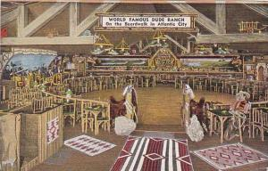 New Jersey Atlantic City World Famous Dude Ranch Western Night Club