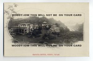 ft688 - Japan - Kanaya Hotel ,  Nikko - postcard
