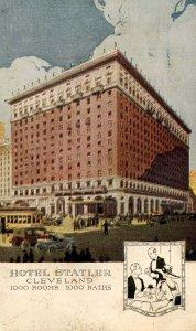 OH - Cleveland. Hotel Statler
