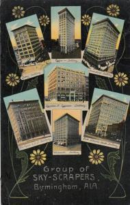 BIRMINGHAM, Alabama, 1912 ; Group of Sky-Scrapers
