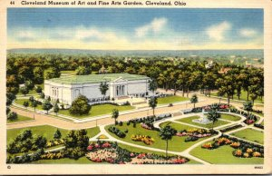 Ohio Cleveland Museum Of Art and Fine Arts Garden 1940