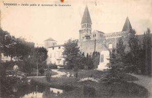 BF3917 tournus jardin public et monument du centena france