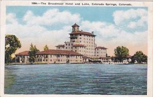 The Broadmoor Hotel And Lake Colorado Springs Colorado