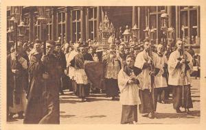 Belgium 24. Bruges Procession du Saint-Sang Cardinal Van Roey Chasse St-Sang