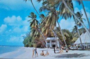 Barbados W.I. St James Beach Settlers Beach Hotel postcard