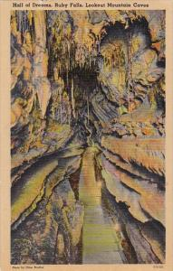 Hall Of Dreams Ruby Falls Lookout Mountain Caves Chattanooga Tennessee 1945