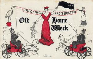 BOSTON, Massachusetts , 1907 ; Old Home Week