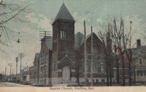BLUFFTON , Indiana , 1911 ; Baptist Church