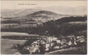 Aerial View of  Bradford Village  Vermont