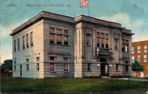 Public Library Frankfort Indiana 1909