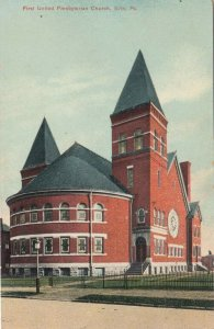 ERIE , Pennsylvania , 1900-10s ; First United Presbyterian Church
