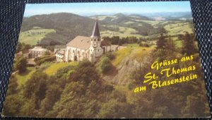 Austria Grusses aus St Thomas am Blasenstein - posted 1993