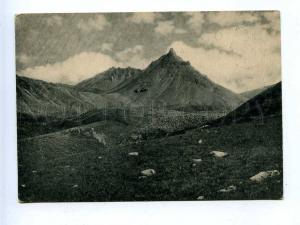 189246 RUSSIA Caucasus Ossetia extinct volcano Syrh-hoch Old