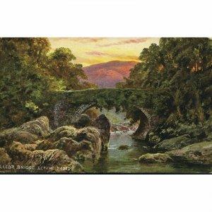 Hildesheimer & Co. Postcard 'Lledr Bridge, Bettws-Y-Coed'