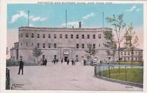 New York City Aquarium & Battery Park