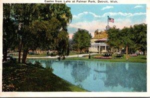 Michigan Detroit Palmer Park Casino From Lake
