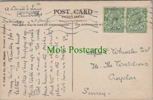 Genealogy Postcard - Wheeler? - 34 The Waldrons, Croydon, Surrey RF7656