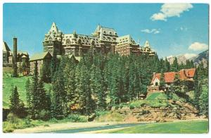Canada, The Banff Springs Hotel, 1963 unused Postcard