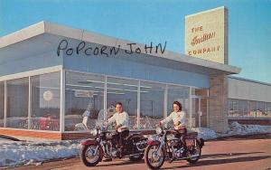 Chicopee Falls MA Indian Motorcycle Sales Home Office Postcard