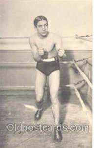 George Carpentier Boxing George Carpentier Unused