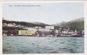 KETCHIKAN, Alaska, 1910-20s; The Water Front