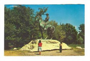Equestrian Statue Of Theodore Roosevelt, Minot, North Dakota, PU-1966