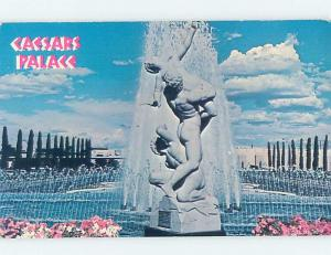 Pre-1980 FOUNTAIN AT CAESARS PALACE JUMPED BY EVEL KNIEVEL Las Vegas NV B0170