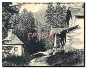 Old Postcard Dauphine Grande Chartreuse The Chapel Casalibus
