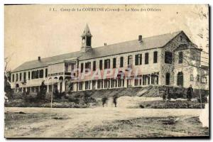 Old Postcard Camp of Courtine The Army Officers' Mess