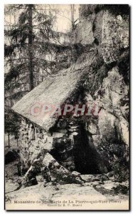 Old Postcard Monastery of St. Mary of Peter Vire Cave R P Muard