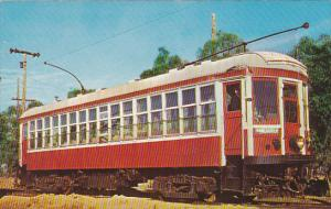 Trolley Canadian Interurban Brtish Columbia Electric Railway Car No 1225