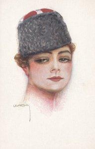 Art Deco ; USABAL , Russian Female Head Portrait 00-10s