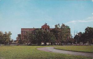 Front Exterior View of Hotel Dieu Hospital, Venice of Quebec, Valleyfield, Qu...