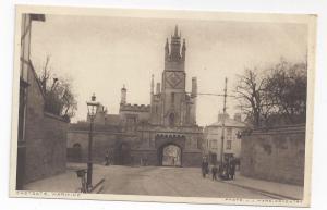 UK England St Peter Chapel above Eastgate Warwick J.J. Ward Photo Vtg Postcard