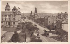 DURBAN, South Africa; Natal: West Street, 10-20s