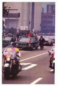 President Jimmy Carter & S Korean President Park, Motorcade, Seoul, Korea, 1979