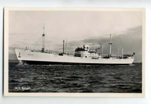 cb0834 - Swedish East Asia Line Cargo Ship - Bengal , built 1944 - postcard